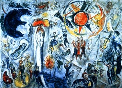 Chagall le peintre for Chagall tableau