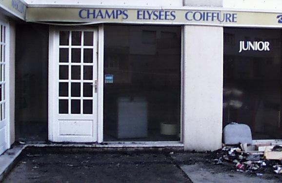 Incendie d 39 un salon de coiffure evry juillet 2001 - Salon de coiffure evry ...